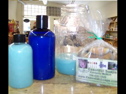How to make homemade Liquid soap with recipe