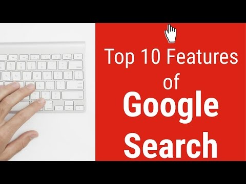Top 10 uses of Google Search outside of regular search!