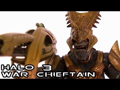 McFarlane Halo 3 WAR CHIEFTAIN Figure Review
