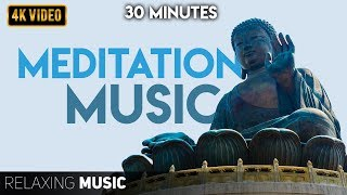 30 Minutes of Meditaiton | Meditation Music Relax Mind Body, Positive Energy, Anxiety