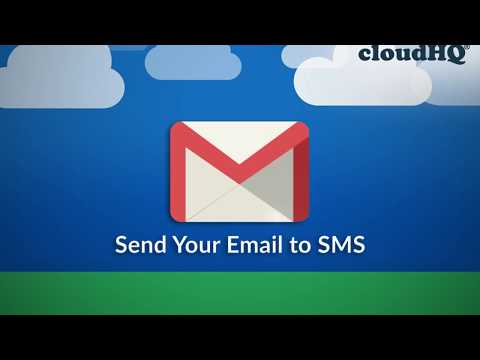 NEW: Get SMS Text Replies as Emails