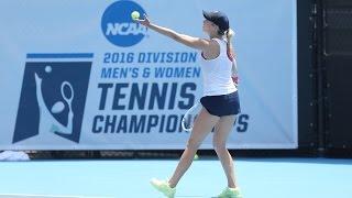 WOMEN'S TENNIS - NCAA Quarterfinal Highlights