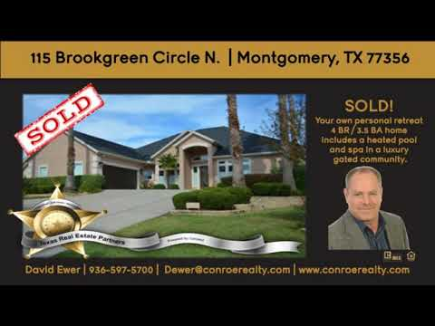 LAKE CONROE GATED COMMUNITY HOME FOR SALE