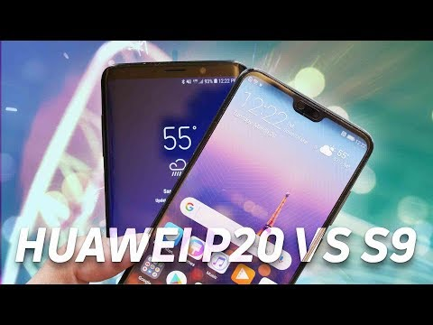 Huawei P20 vs Samsung Galaxy S9 Quick Look