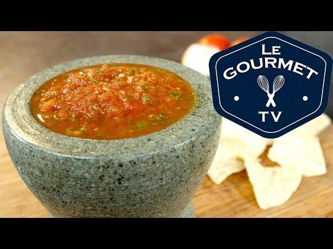 Restaurant Style Salsa || Le Gourmet TV Recipes