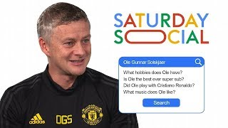 Ole Gunnar Solskjaer Answers The Web's Most Searched Questions About Him | Autocomplete