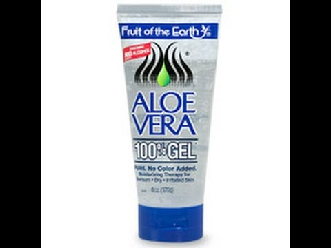 Product Review: Fruit Of The Earth Aloe Vera Gel