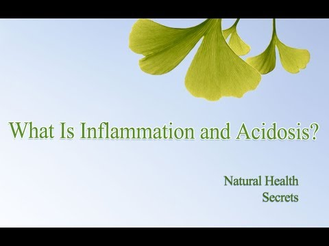 [Natural Health Secrets] Episode 7: What Is Inflammation and Acidosis?