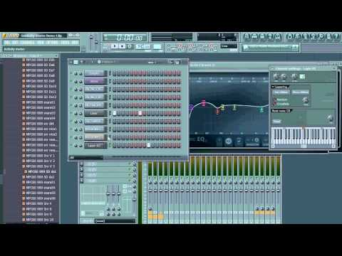 Big Beat & Dubstep Drum Production (Skrillex, Noisia, etc) Using FL Studio & Goldbaby Samples
