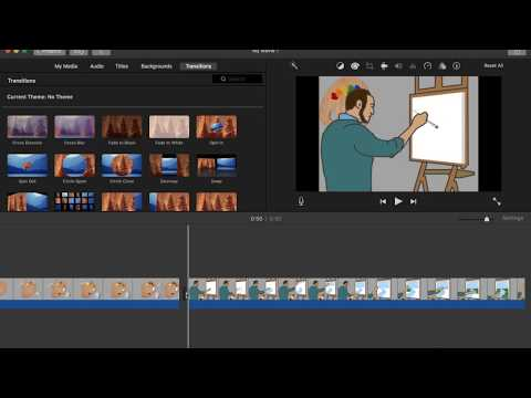 Basics of Using iMovie with Adobe Animate CC