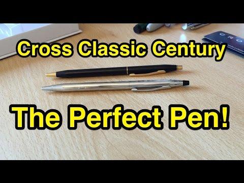 Cross Classic Century Lustrous Chrome Pen Unboxing & Close Up!