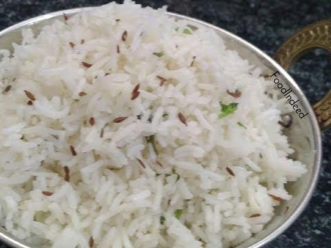 जीरा राइस /Perfect Jeera Rice Recipe in Hindi/Restaurant Style Jeera Rice #15