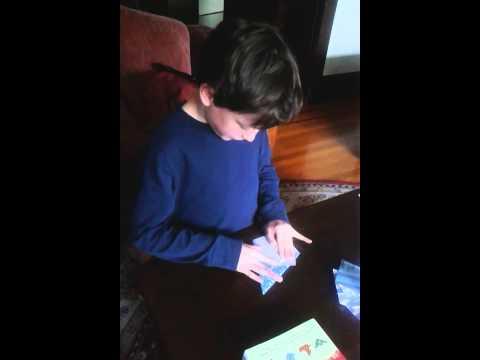 Max's basic origami instructions: Scorpion