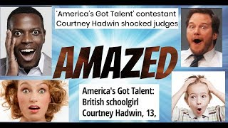 Courtney Hadwin! Compilation of reactions!