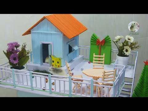 How to Make Cardboard House - Beautiful DIY Home Making Project