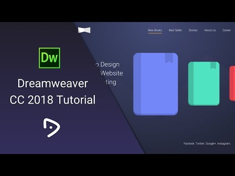 Dreamweaver CC 2018 Tutorial - 4 - Image and Typography