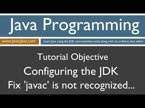 Learn Java Programming - Configuring the Java Development Kit (JDK) Windows 10