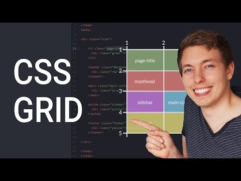 How to Create Website Layouts Using CSS Grid | Learn HTML and CSS | HTML Tutorial
