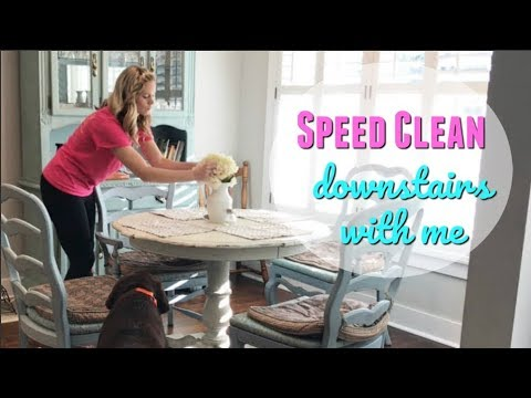 CLEAN WITH ME 2018 // MAJOR CLEANING MOTIVATION // MY FAVORITE CLEANING PRODUCTS