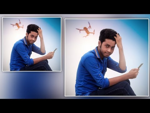 Background Change | edit like Facebook Profile picture | photoshop Tutorial