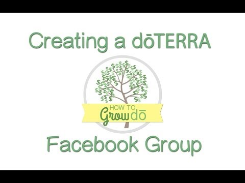 Creating an Essential Oil Facebook Group