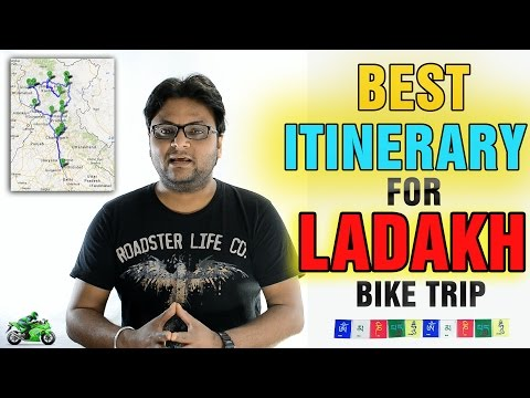 Ladakh Itinerary   Best Route Plan   By Road  