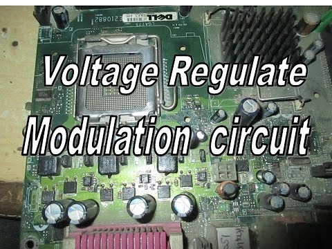 VRM  सर्किट कैसे काम करता है | Voltage Regulate Modulation circuit diagram