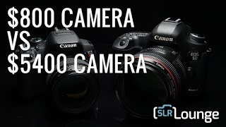 $800 (Rebel) vs $5400 (Mark III) | Can You Tell The Difference?