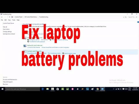 How to laptop fix battery problems like not showing Remaining time #batteryproblem #computerrepair