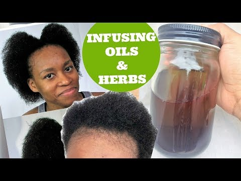 DIY Ayurvedic Herb Infuse Scalp Oil For Faster Natural Hair Growth