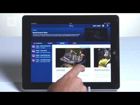 Sky Go Android video