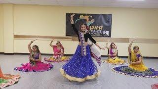 Ghoomar ft Meera,Sree -KB presentation ||YUVA Dance Academy MD USA