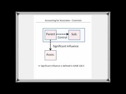 Accounting for Associates 1 - Part 1