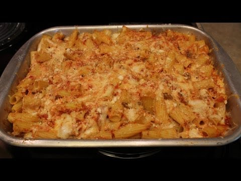 BEST Baked ZITI - EASY TO MAKE - Holiday Recipe - The Lighthouse Lady