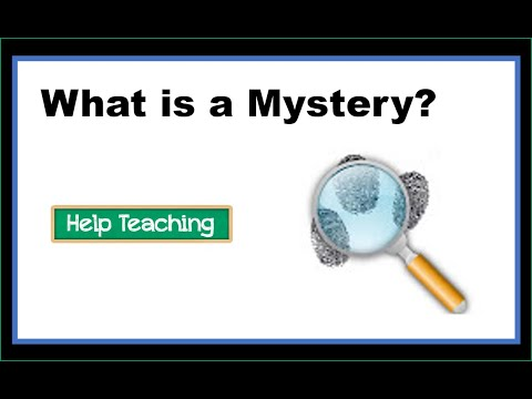 Reading Lesson: Elements of a Mystery