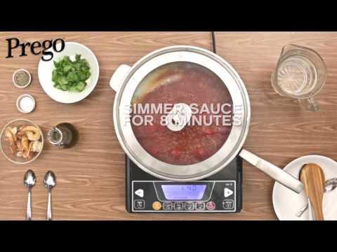 Prego Spaghetti Arragosta - 60secs Video Tutorial