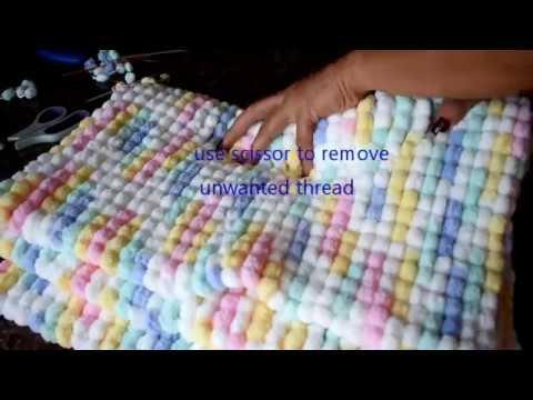 Knitting Baby Blanket (FINISH)