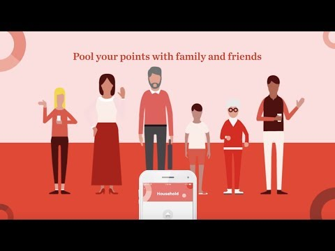 How to pool PC Optimum points with family and friends