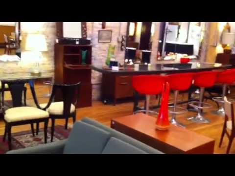 An Orange Moon Mid Century Modern Vintage Furniture Chicago