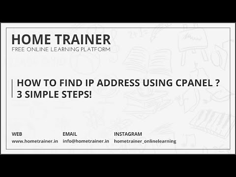 How to Find IP Address Using CPanel ? 3 Simple Steps!