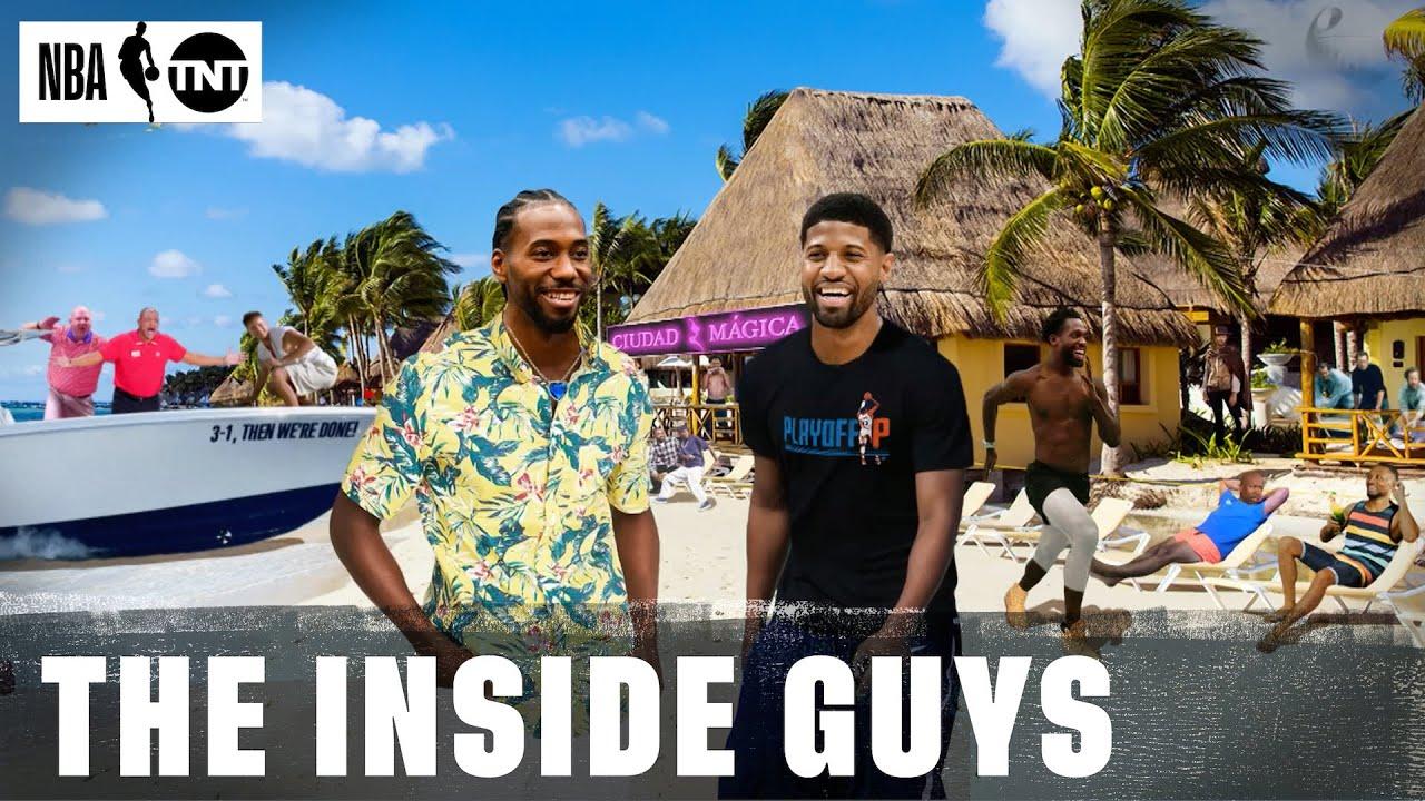 Shaq, Chuck, Kenny & Ernie Recap the Best Gone Fishin' Moments From the 2019-20 Season | NBA on TNT