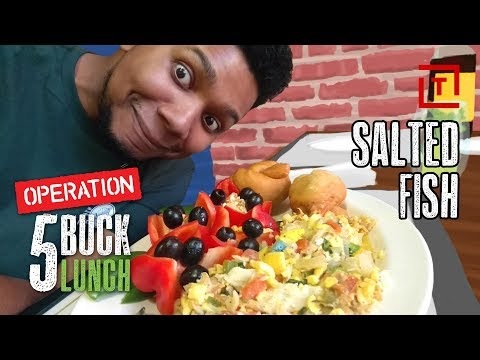 The Best Cheap Salt Fish in NYC || Operation $5 Lunch