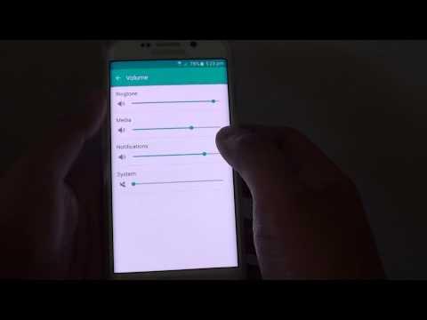 Samsung Galaxy S6 Edge: How to Change Notification Volume