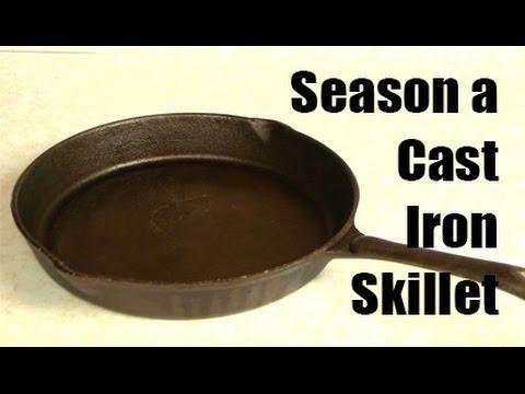 Season a Cast Iron Skillet!