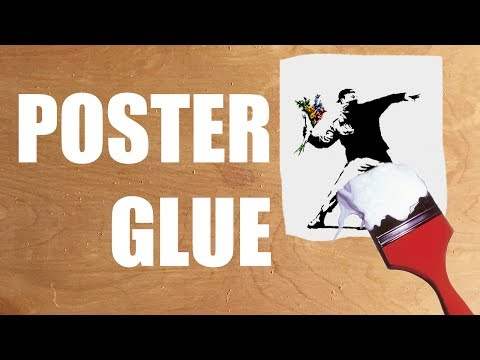 How To: Make & Use Poster Glue (Wheat Paste)