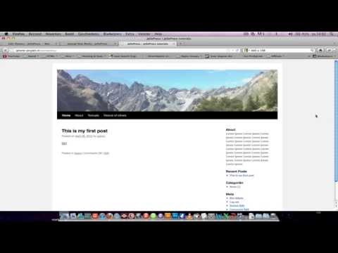 How to create a header slideshow in WordPress