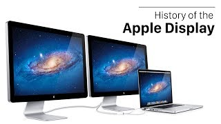History of the Apple Display