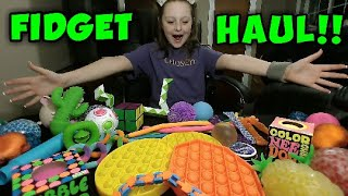 FIDGET HAUL!!! Learning Express Fidgets!! All My Favorite FIDGETS!!!