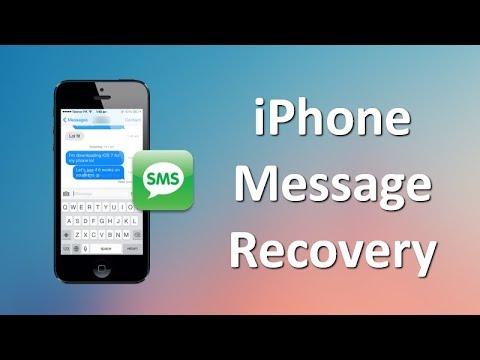 How to Recover Deleted or Lost SMS/iMessages from iPhone, iPad or iPod Touch
