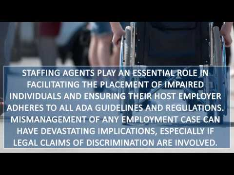 Staffing Agency Insurance - ADA Requirements